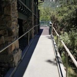 Acessible walkway at The Grand